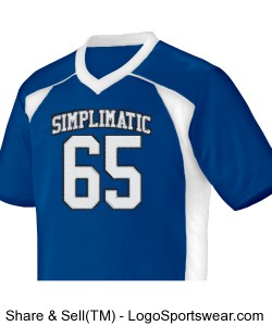 Simplimatic Football Jersey Design Zoom
