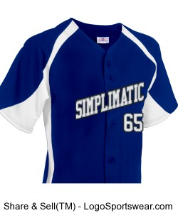 Simplimatic Baseball Jersey Design Zoom