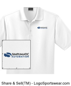 Simplimatic Nike Golf - Dri-Fit Polo (TALL) Design Zoom
